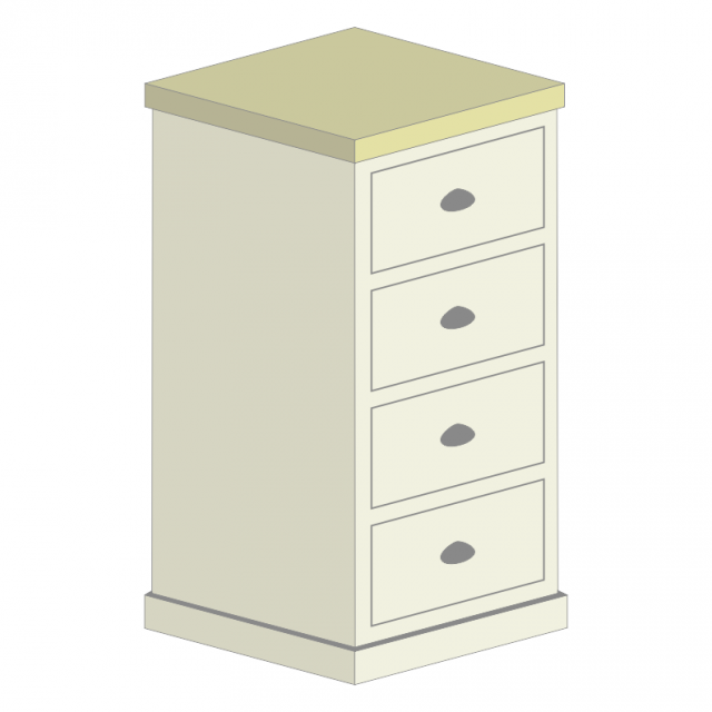 4 Drawer Wellington