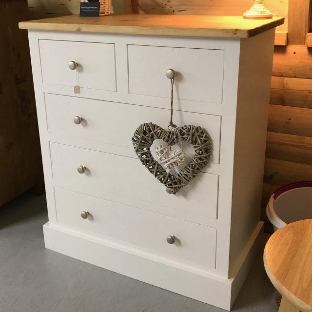 Blyton Range - 2 Over 3 Chest of Drawers
