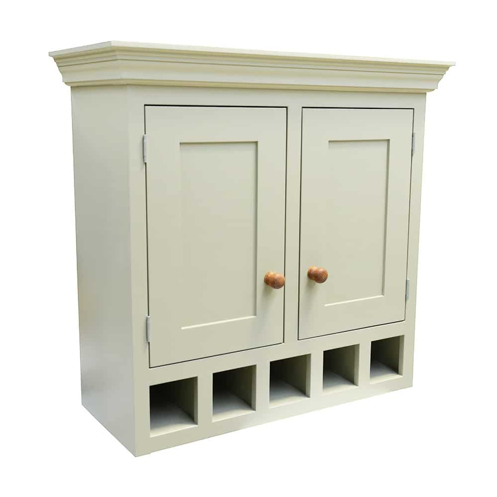 Double Door Freestanding Wall Unit