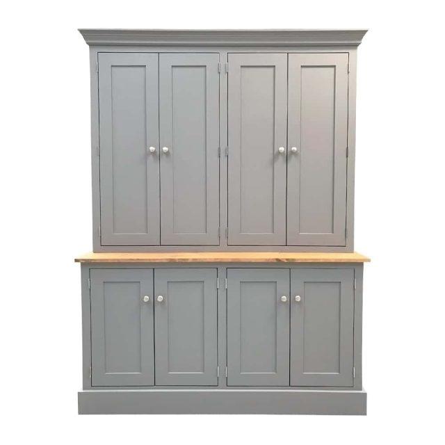 Freestanding Double Larder Cupboard