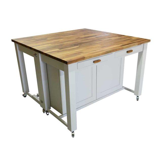 Freestanding Kitchen Large Island Unit