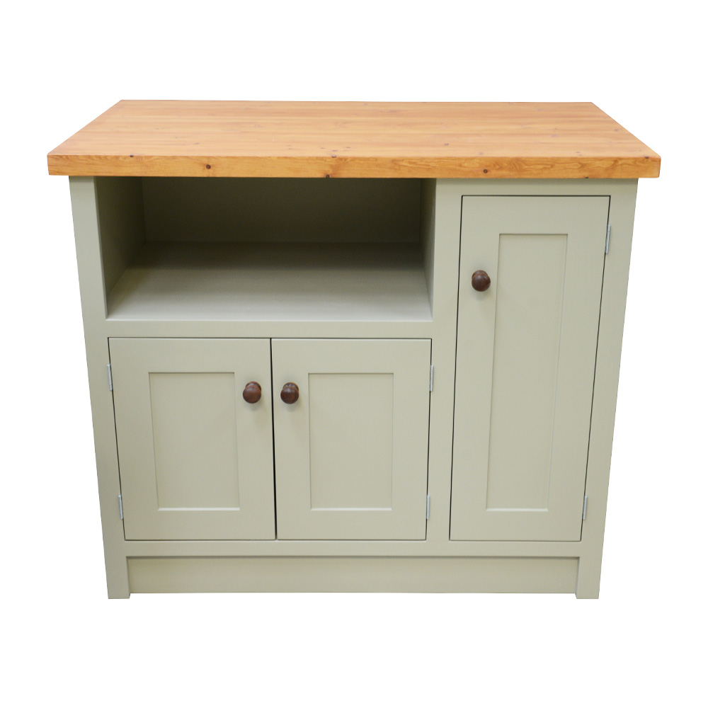 Single Belfast Freestanding Sink Unit with Cupboard
