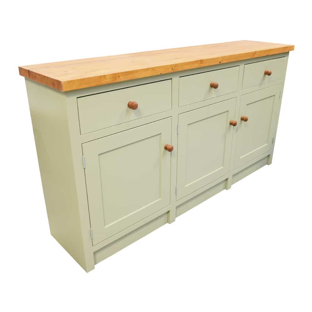 Triple Door and Drawer Freestanding Base Unit