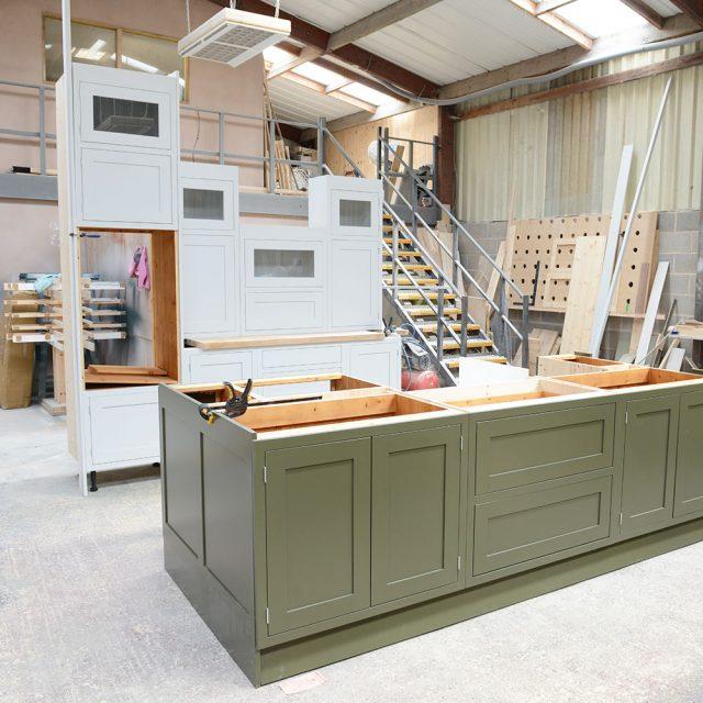 Bespoke Solid Wood Kitchen Manufacturing