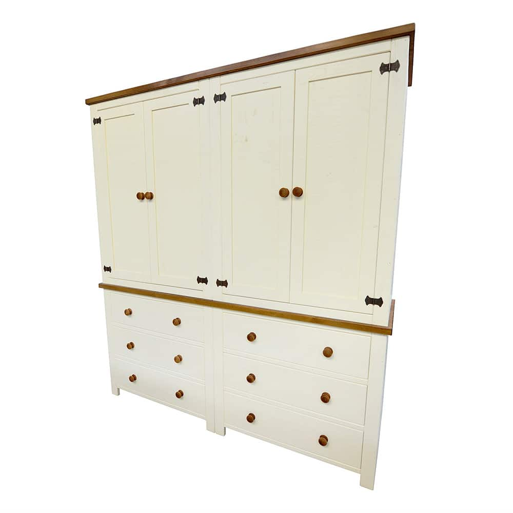 Freestanding Rustic Larder Dresser Unit