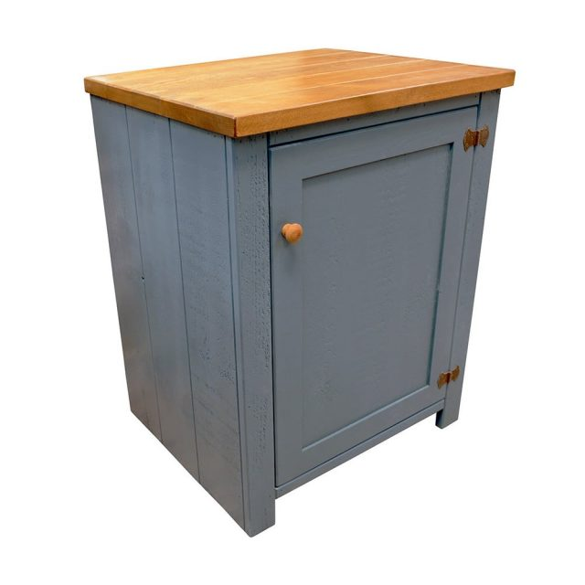 Single Door Freestanding Rustic Base Unit