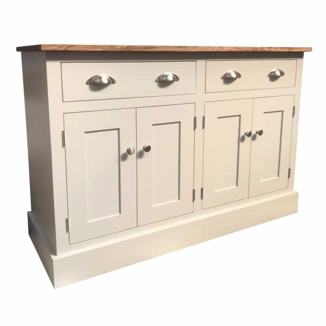 Blyton 4ft Solid Wood Sideboard