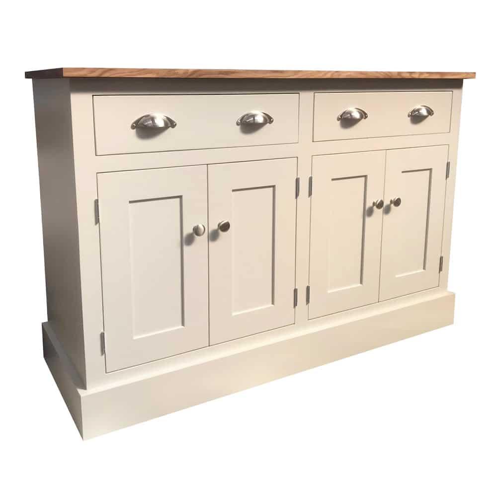 Blyton 4ft Solid Wood Sideboard