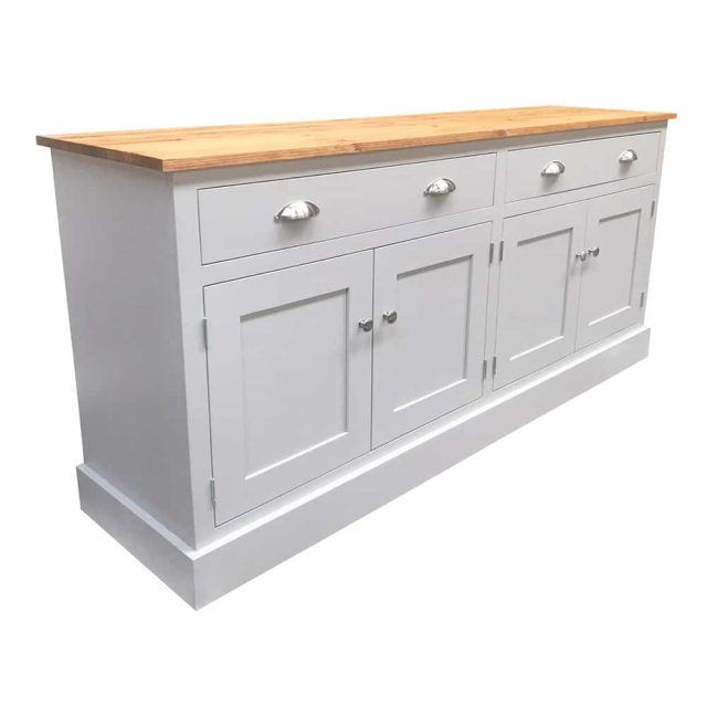6ft Solid Wood Sideboard