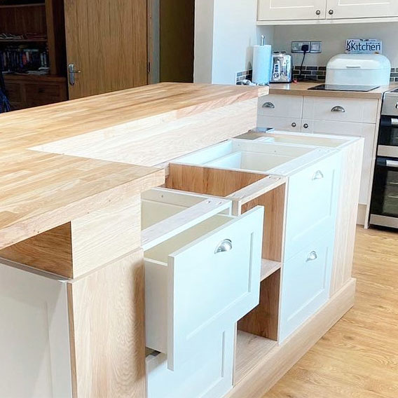 Solid Wood Kitchen Islands